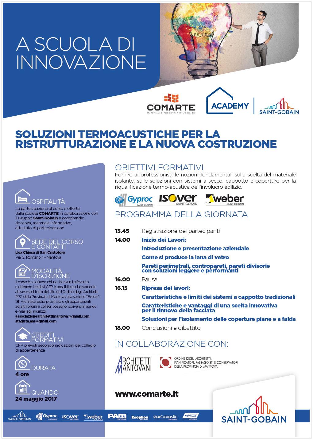 A scuola di innovazione | Mantova, 24 maggio 2017