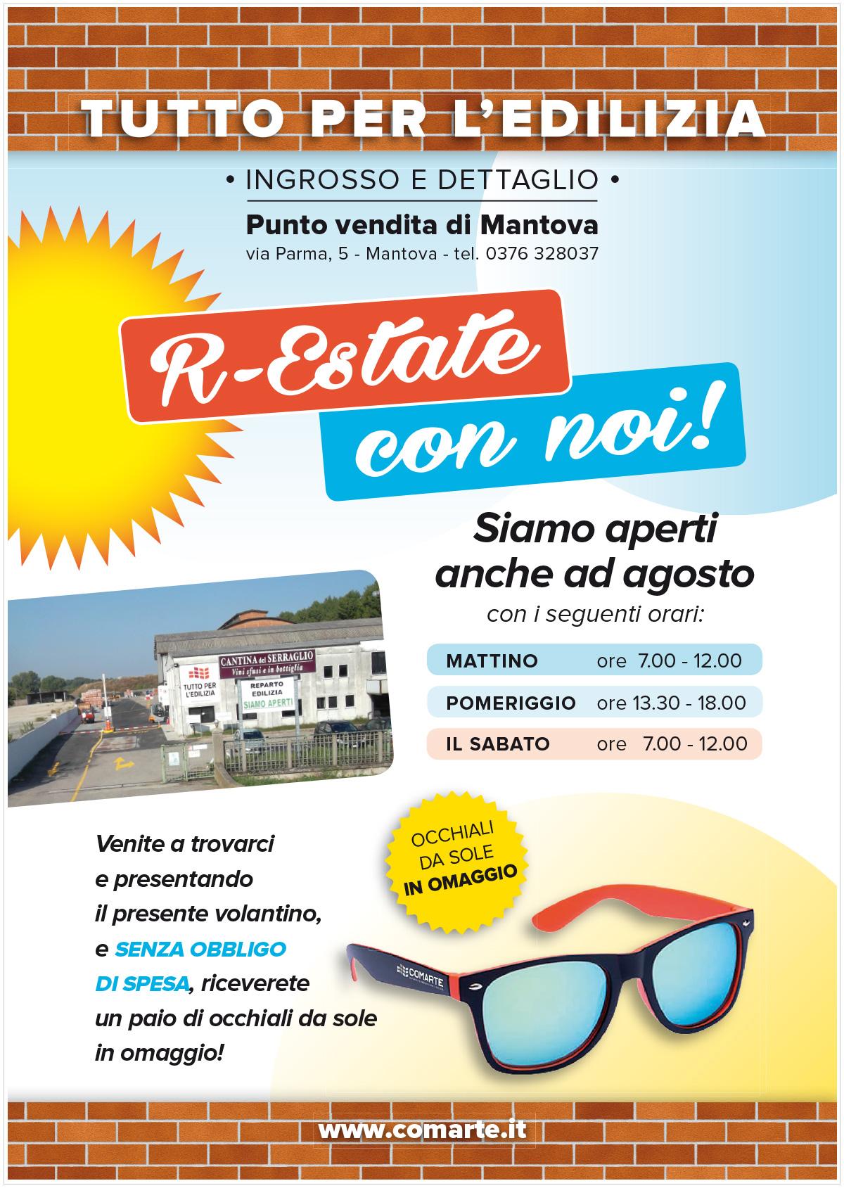 Promozione estate a Mantova | Occhiali sa sole